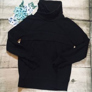H&M Black Mock Turtleneck Medium Sweatshirt